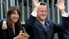 David Cameron threw Ibiza rave for his wife Samantha at Chequers