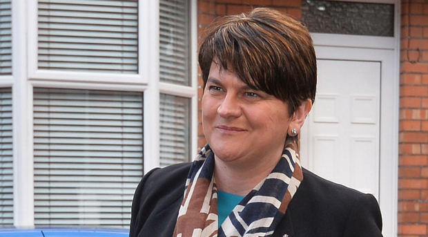 Arlene Foster's leadership rating came out at 21%
