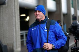 EDINBURGH, SCOTLAND - FEBRUARY 04: Vern Cotter the coach of Scotland arrives prior to the RBS 6 Nations match between Scotland and Ireland at Murrayfield Stadium on February 4, 2017 in Edinburgh, Scotland. (Photo by Ian MacNicol/Getty Images)