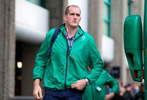 Ireland's Devin Toner arriving before the RBS 6 Nations match at BT Murrayfield Stadium, Edinburgh. PRESS ASSOCIATION Photo. Picture date: Saturday February 4, 2017. See PA story RUGBYU Scotland. Photo credit should read: Owen Humphreys/PA Wire. RESTRICTIONS: Editorial use only, No commercial use without prior permission.