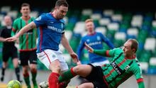 Battle lines: Linfield and Glentoran clash at Windsor Park tonight
