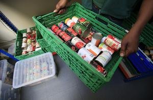 The Trussell Trust operates a network of food banks throughout the UK