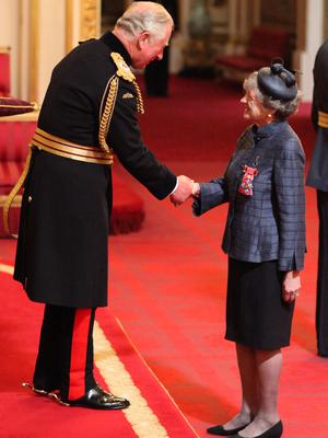 Julia McKenzie described the Prince of Wales as 'very sweet' (Yui Mok/PA)