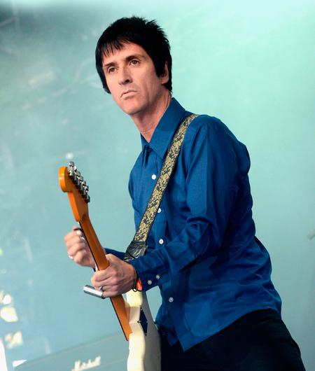 Flying solo: Johnny Marr on stage