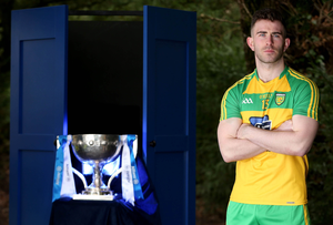 Fresh hope: Patrick McBrearty says Donegal have come up with a solution why they are slipping up in the big games