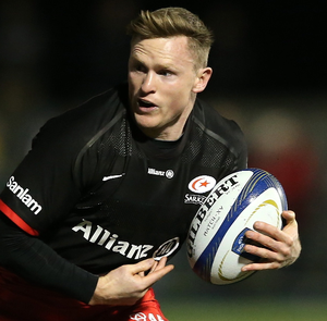 All in hand: Chris Ashton is back in England squad