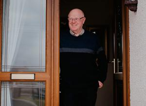 Gary's father Norman who lives with them