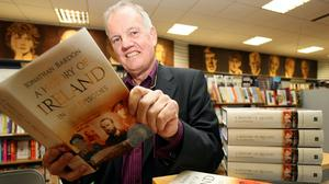 Jonathan Bardon, at the launch of his book in 2007 (Paul Faith/PA)