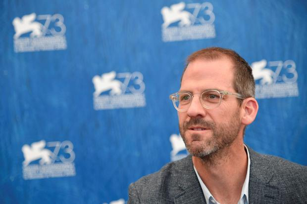 "Director Charles Siskel poses during the photocall of the movie ""American Anarchist"" presented Out of Competition at the 73rd Venice Film Festival on September 2, 2016 at Venice Lido.TIZIANA FABI/AFP/Getty Images"