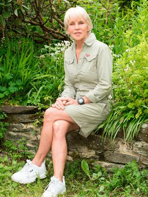 Anne McCloskey relaxes at home