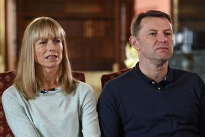The parents of missing Madeleine, Kate and Gerry McCann (Joe Giddens/PA)