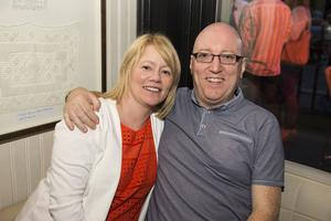 The Cloth Ear blues festival pictured Sarah and Peter McConvey