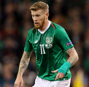 Stance: James McClean has been in the firing line again