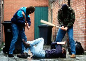 'The murders of Paul and Glenn Quinn were totally unrelated, but a warning to their respective communities that paramilitaries rule the roost and anyone defying them runs the risk of a severe beating at best or death at worst.'  (stock photo)