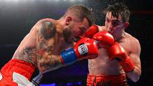 In control: Michael Conlan went eight rounds with ease against Ibon Larringa on Saturday night