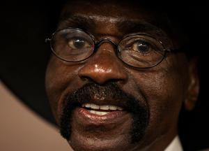 """Former boxer Rubin """"Hurricane"""" Carter died at age 76 on April 20, 2014 in Toronto, Canada. Carter's career was cut short by a murder conviction that was overturned 19 years later.  (Photo by Paul Kane/Getty Images)"""