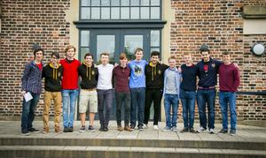 A-Level results day 2016 - RBAI on the 18th August 2016, Belfast , Northern Ireland ( Photo by Kevin Scott / Belfast Telegraph )