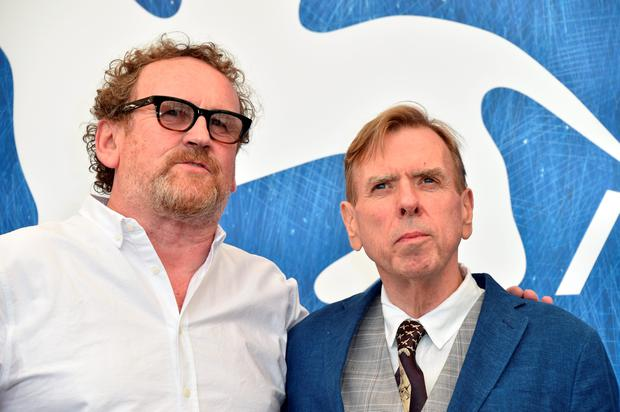 VENICE, ITALY - SEPTEMBER 07:  Actor Colm Meaney and actor Timothy Spall attend a photocall for 'The Journey' during the 73rd Venice Film Festival at Palazzo del Casino on September 7, 2016 in Venice, Italy.  (Photo by Pascal Le Segretain/Getty Images)