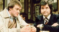 Rodney Bewes and James Bolam in the Likely Lads