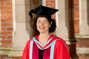 Professor Sylvia Walby OBE, today received her honorary degree for distinction in sociology from Queen's University Belfast.