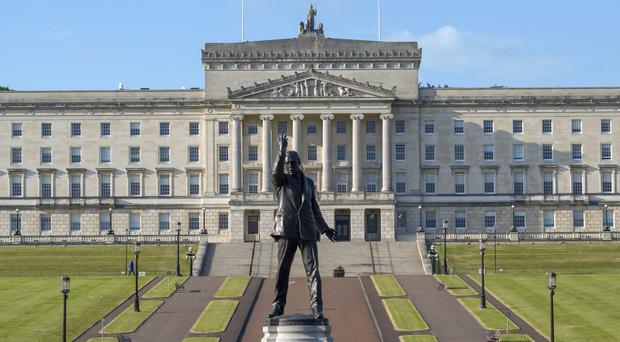 Parliament Buildings at Stormont in Belfast (PA)