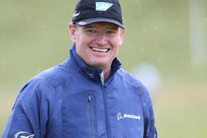 Press Eye - Belfast - Northern Ireland 27th May 2015 -  Dubai Duty Free Irish Open at Royal County Down Ernie Els Picture by Andrew Paton / Press Eye.