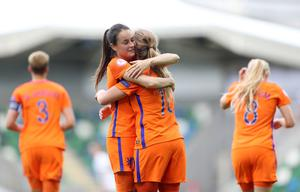 Netherlands and goal-scorer Victoria Pelova did push Spain in the other semi-final...