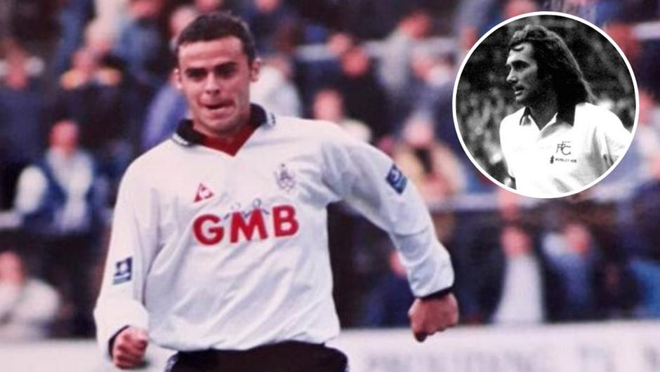 Rodney McAree played just 32 games for Fulham but has his own song at Craven Cottage until this day, enjoying greater affinity with the club's support than even George Best (inset).
