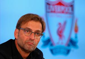 LIVERPOOL, ENGLAND - OCTOBER 09:  Jurgen Klopp at Anfield is unveiled as the new manager of Liverpool FC during a press conference at Anfield on October 9, 2015 in Liverpool, England.  (Photo by Alex Livesey/Getty Images)