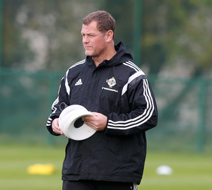 Still in charge: Jim Magilton will guide under-21 side