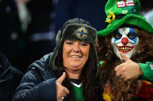 Northern Ireland v Germany World Cup Qualifier Group C fans. Photo Colm Lenaghan/Pacemaker Press