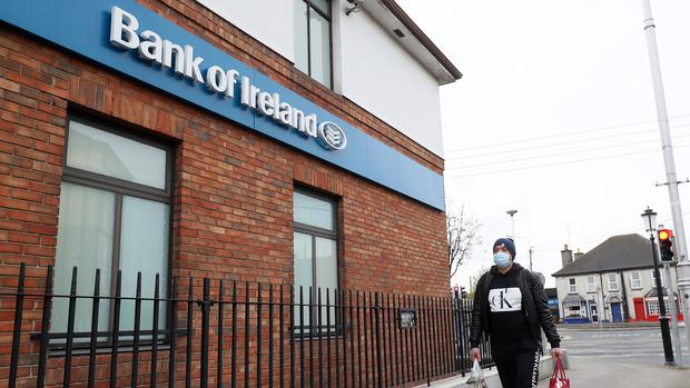 Bank of Ireland has announced that it is to shut 103 branches permanently across the island of Ireland later this year (Brian Lawless/PA)