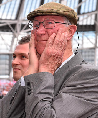 Away the lads: Jack Charlton looks back on his time as Ireland boss with fondness