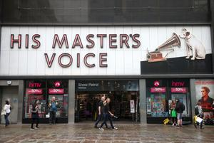 HMV was founded in 1921 (Yui Mok/PA)
