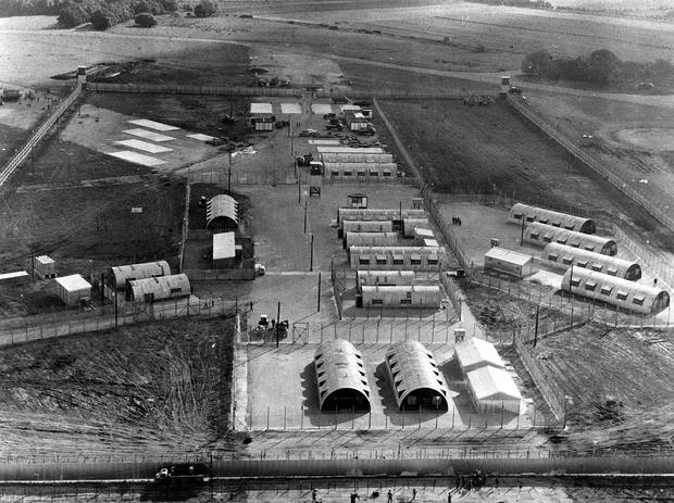 Internment without trial was introduced in the early 1970s (PA)
