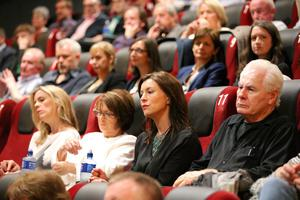 Press Eye Belfast - Northern Ireland - 31st July 2016    The audience at the film premiere of Bobby Sands: 66 Days at the Omniplex Cinema at the Kennedy Centre in west Belfast.  The premiere was hosted with Féile An Phobail and West Belfast Film Festival.  Photo by Kelvin Boyes  / Press Eye