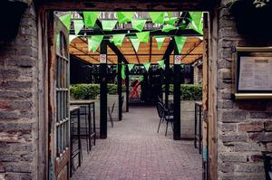 The Dirty Onion on St Patrick's Day which is now shut