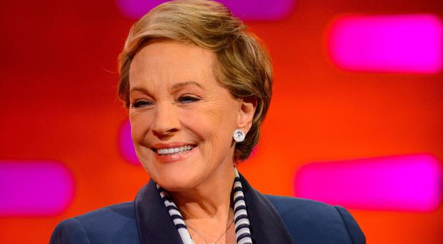 Dame Julie Andrews (Dominic Lipinski/PA)