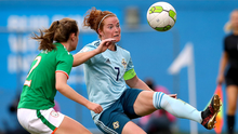 Captain competition: Marissa Callaghan is set to skipper Northern Ireland in Kenny Shiels' first game at the helm