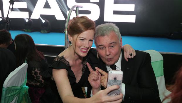 Press Eye - Belfast - Northern Ireland - 16th June 2017 -   Niamh McGrady and Eamonn Holmes pictured at the Sunday Life Spirit of Northern Ireland Awards with Specsavers at the Culloden Hotel. Photo by Kelvin Boyes / Press Eye.