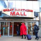 The Great Northern Mall on Great Victoria Street where three men were stab during a fight on Saturday evening. Credit: Jonathan Porter/PressEye