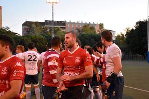 Ricky Andrew after a match with CAU Valencia.