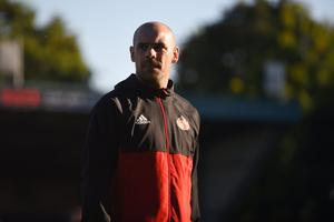Darron Gibson played 90 minutes of Salford City's 2-2 draw with Exeter City in their League Two opener on Saturday.