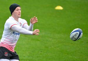 PACEMAKER PRESS 21/10/2016  Ulster's Craig Gilroy  during the Captains run ahead of Ulster's European Rugby Champions Cup game against Exeter Chiefs at the Kingspan Stadium in Belfast on Saturday evening. Pic Colm Lenaghan/Pacemaker
