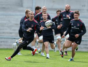Back on the ball: Ruan Pienaar is one of the high-profile stars among 11 players recalled to Ulster's starting line-up