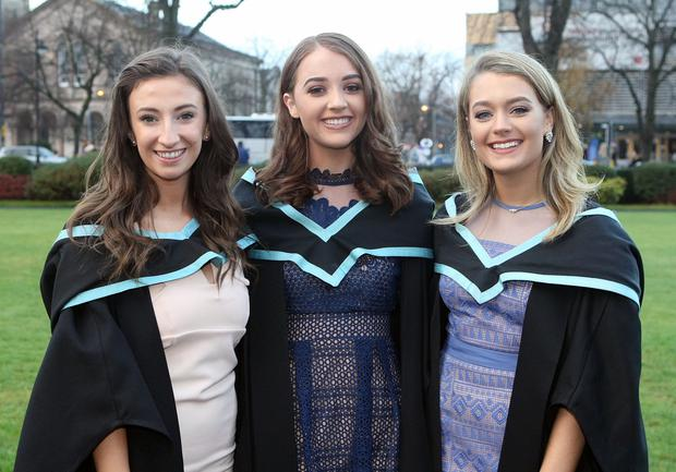 Gemma Thompson from Belfast, Alicia Quinn from Toome and Jacqueline Fitzpatrick from Armagh.