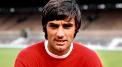 Competitive edge: football great George Best