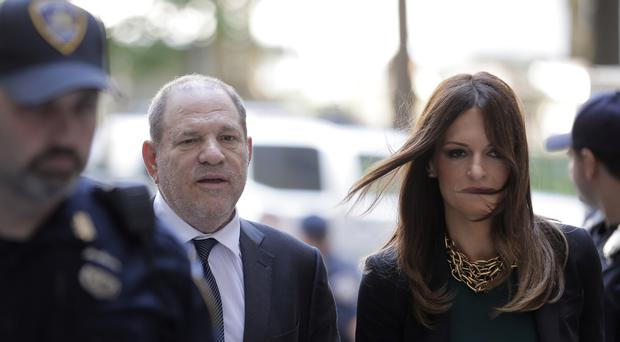 Harvey Weinstein and attorney Donna Rotunno arrive at court last July (Seth Wenig/AP/PA)