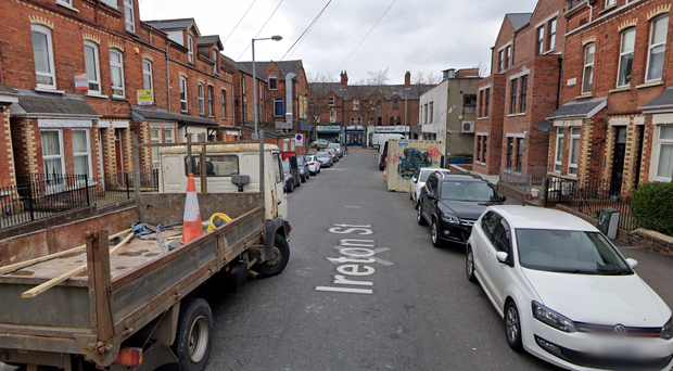 The incident happened on Ireton Street in south Belfast.