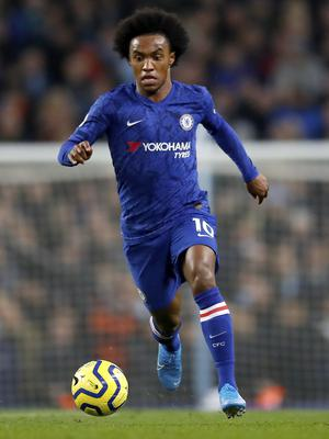 Frank Lamoard is keen to Willian to remain at the club (Martin Rickett/PA).